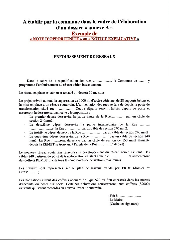 exemple de note d u0026 39 opportunit u00e9